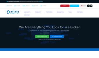 Amana Capital Broker Recenzja